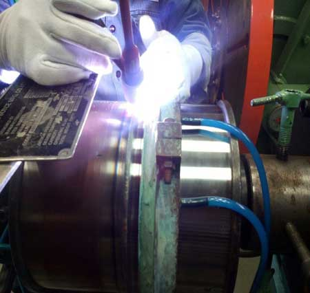 Dissimilar Welding of MDN250 Maraging